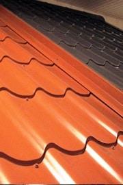 Plaques de toiture en forme de tuiles