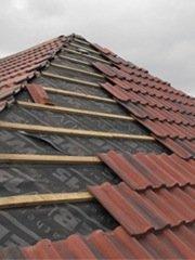 Placer un nouveau toit