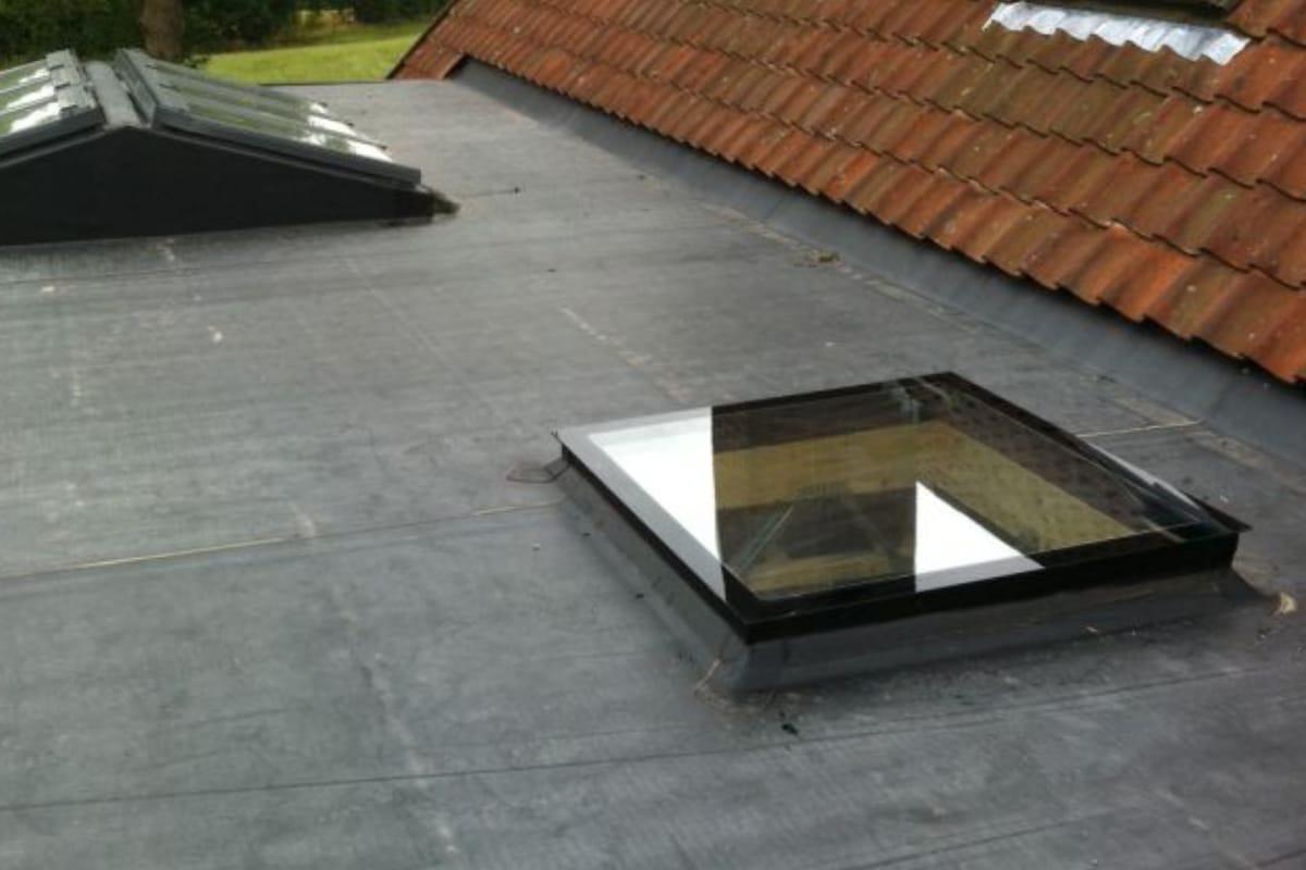 coupole de toit toiture plate
