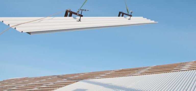 Plaques de toiture